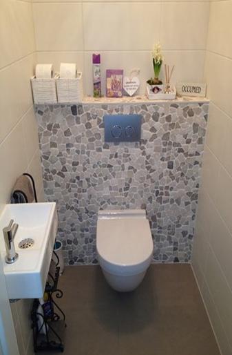 Badkamer en sanitair j b bouw purmerend - Wc mozaiek ...