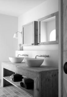 Badkamer-wastafel-spiegel